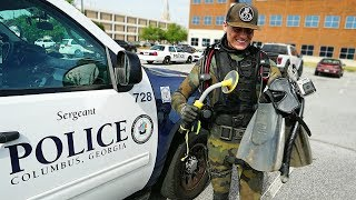 Helping the Police Find a Gun Underwater to Solve a Criminal Case! (Metal Detecting Underwater) - Video Youtube