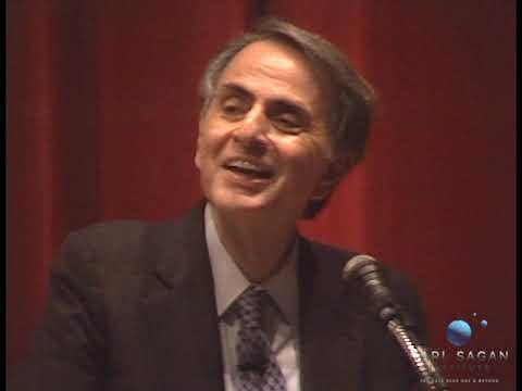 """Carl Sagan's 1994 """"Lost"""" Lecture: The Age of Exploration"""