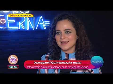 Damayanti Quintanar confirma su personaje como Yolanda Saldivar en la serie de Selena| Sale el Sol