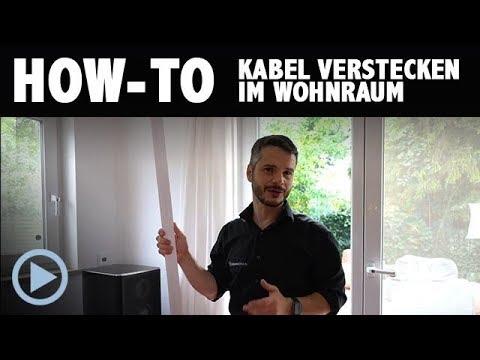 How-To: Kabel verstecken im Heimkino / Wohnzimmer / Wohnraum