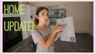 New Home Update: Picking out Flooring, Kitchen re-design and More! by Dulce Candy