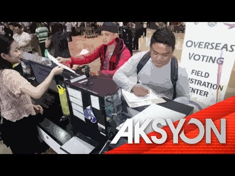 [News5]  OFW voter registration