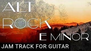 Reggae Inspired Alt Rock Backing Track for Guitar in E Minor (Em)