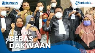 Istrinya Bebas dari Dakwaan Kasus Pelemparan Pabrik Tembakau, Suami: Hukum Jangan Tajam ke Bawah