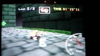 "Mario kart 64 - BC lap - 43"" 35"