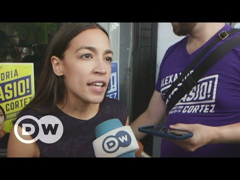 Alexandria Ocasio-Cortez becomes a force to reckon with   DW English