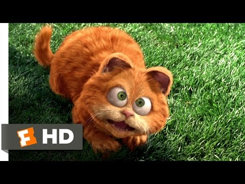 Garfield (2/5) Movie CLIP - Odie Saves Garfield (2004) HD