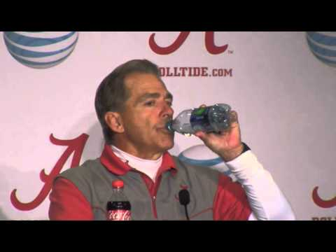 Nick Saban Press Conference, April 2, 2016