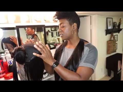 How to Make a Wig for Beginners  LIVE ONLINE CLASSES ON YOUR PHONE 📲   WIGMAKING101