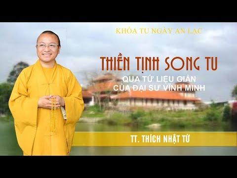 Thiền Tịnh song tu qua Tứ Liệu Giản của đại sư Vĩnh Minh - TT. Thích Nhật Từ