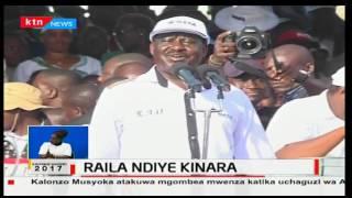 Raila Odinga ndiye mpeperushaji bendera wa muungano wa upinzani wa NASA