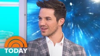 Matt Lanter Talks 'Timeless,' Introduces His Wife To KLG, Hoda | TODAY