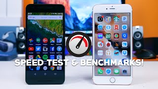 Nexus 6P vs iPhone 6s Plus - Speed Test and Benchmarks