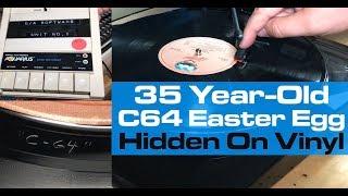 35 Year-Old C64 Easter Egg Hidden On Vinyl