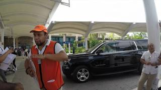 Navigating out of Cancun Airport Mexico || Find your airport transfer in 4K
