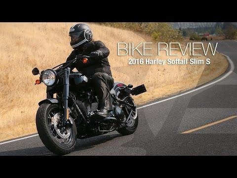 2016 Harley-Davidson Softail Slim S Review – MotoUSA