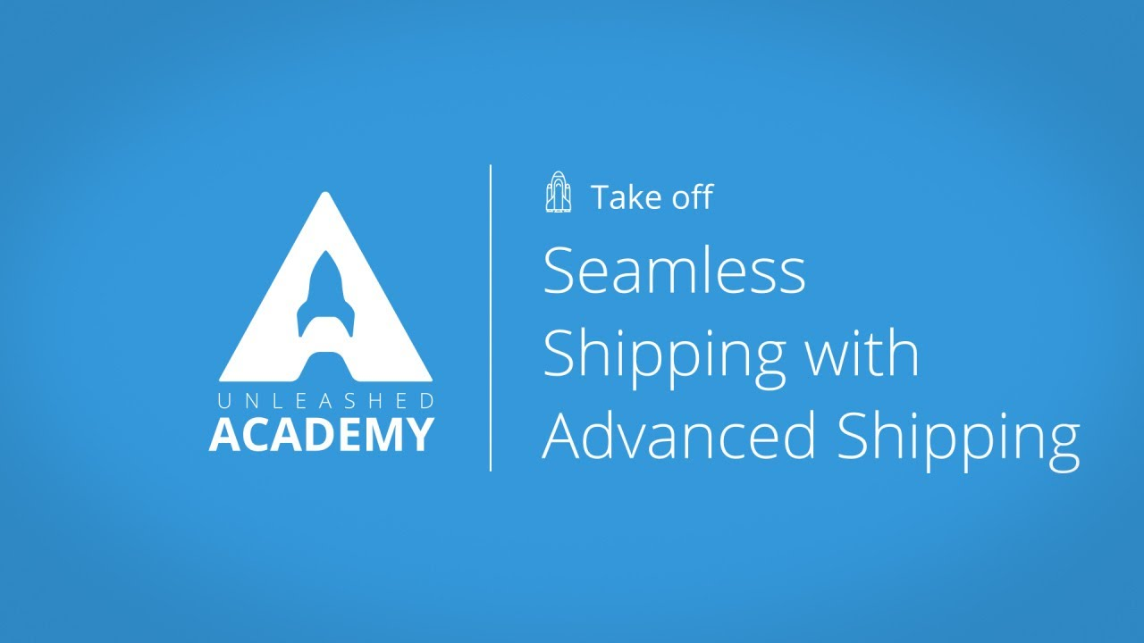 Seamless Shipping with Advanced Shipping YouTube thumbnail image