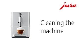 ENA Micro 9 − Cleaning the machine (multi-language subtitles)