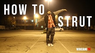 Learn How to Strut | Money B (Playboyz Inc) | Beginning Popping Tutorial