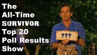 Survivor Top 20 Players Of All Time Poll Results Show