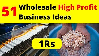 Top 50 Wholesale Business Ideas In India || Small Business Ideas