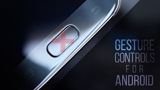 Never Touch Your Physical Home Button Again! - Android Gesture Controls