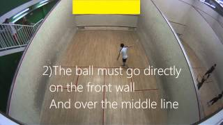 Squash Introduction - What is squash - How to play squash, The basics