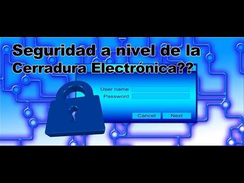 Qué tan seguras son las Cerraduras Electrónicas?