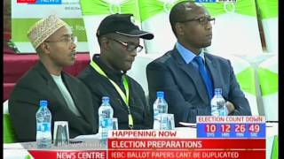 Wafula Chebukati : Risks that are of concern in the up coming elections and how to handle them