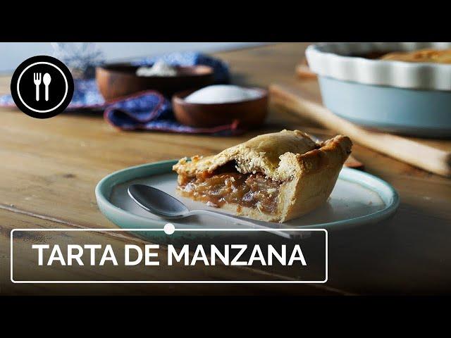 TARTA de MANZANA ESTILO AMERICANO