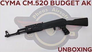 [UNBOXING] CYMA CM.520 BUDGET AK