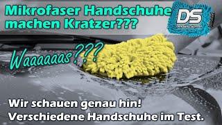 Auto Waschhandschuh zerkratzt Lack? Mikrofaser erzeugt Kratzer? Wir testen es genau! Teil 1