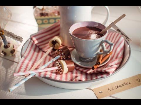 Rezept: Trinkschokolade am Stiel von Dr Oetker