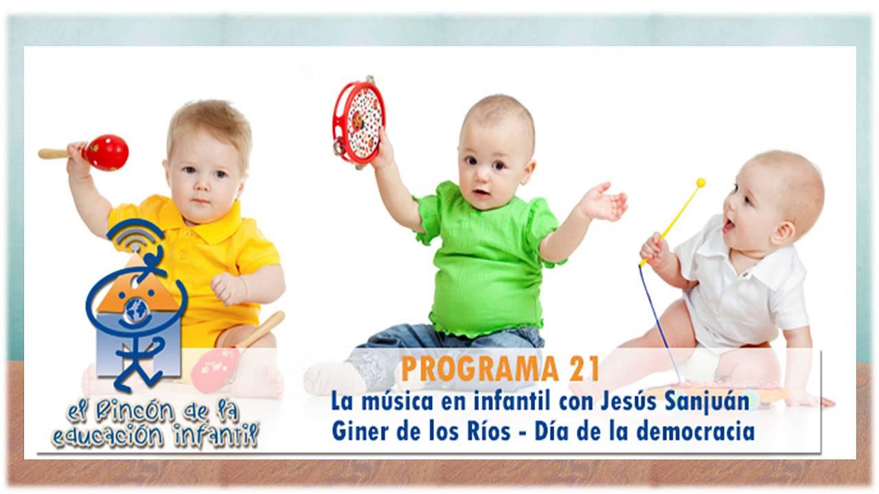 La música en infantil - Francisco Giner de los Ríos - Día de la Democracia (p21)