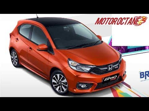 Motoroctane Youtube Video - Honda Brio 2019 - All Details   Hindi   MotorOctane