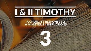 I & II Timothy - #3