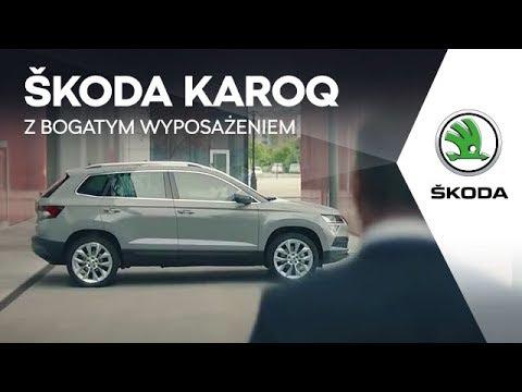 Skoda  Karoq Паркетник класса J - рекламное видео 4