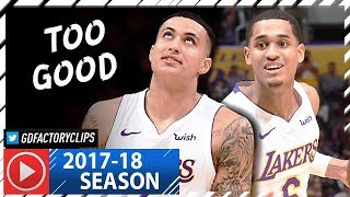 Jordan Clarkson & Kyle Kuzma Full Highlights vs Knicks (2018.01.21) - 29 Pts for Clarkson!