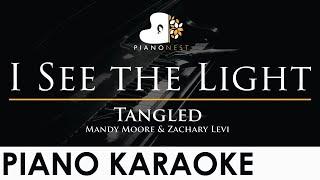 I See the Light - Tangled - Piano Karaoke Instrumental - Mandy Moore & Zachary Levi Cover Lyrics