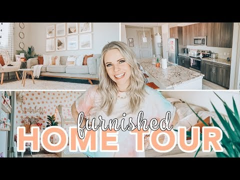 FURNISHED HOME TOUR 2020 / Caitlyn Neier