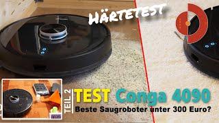 Conga 4090 Vergleich und Härtetest- Ist es der beste Saugroboter unter 300 Euro?[ Saugroboter Test]