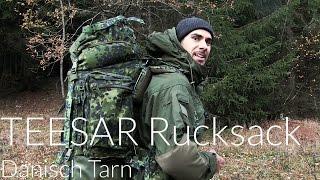 Teesar Rucksack 100 L Dänisch Tarn [Review] | Outdoor AusrüstungTV