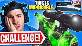 Can We Win with SNIPERS ONLY?! 😳 (Modern Warfare Warzone)