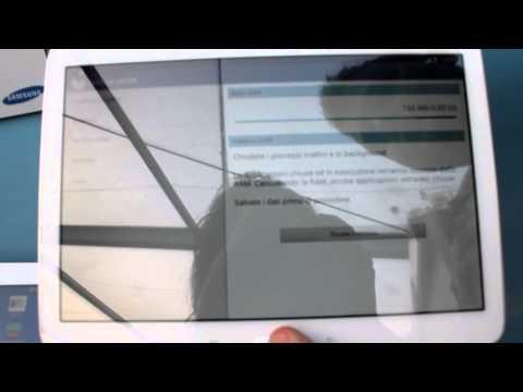 Foto Samsung Galaxy Tab 3 10.1: anteprima