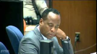 Conrad Murray Trial   Day 14, Part 1