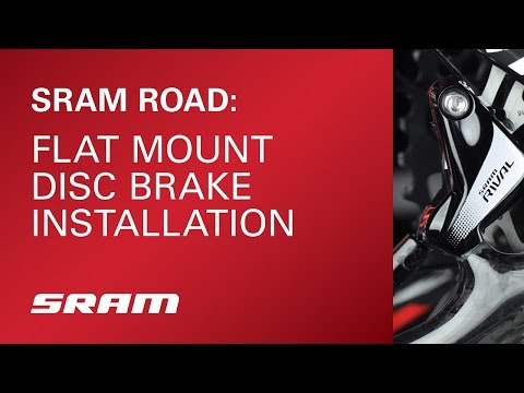 SRAM Road: Flat Mount Disc Brake Installation