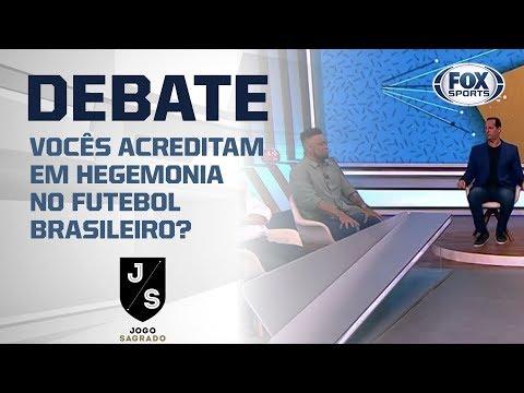 Vocês acreditam em hegemonia no futebol brasileiro?