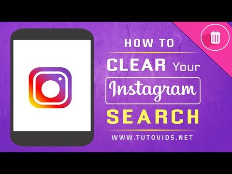How To Clear Instagram Search History - 2018