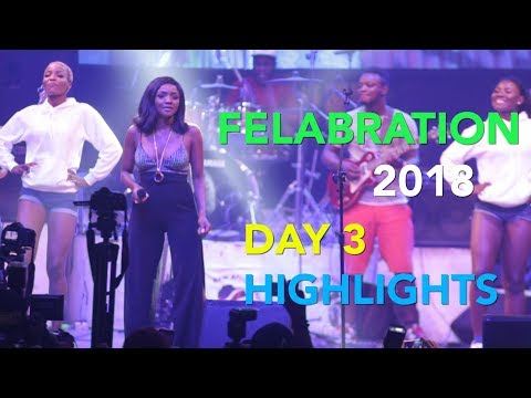 Felabration 2018: Timaya blows fans away with melodious tunes
