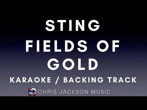 Sting - Fields of Gold Backing Track / Karaoke FREE
